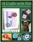 Simple Craft Ideas Felt Flowers